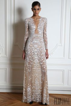 "Zuhair Murad ""Microcosmos"", S/K 2014-2015 - Hazır giyim - http://tr.flip-zone.com/fashion/ready-to-wear/fashion-houses-42/zuhair-murad-4638"