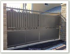Portail coulissant -ferronnerie AG METAL 35