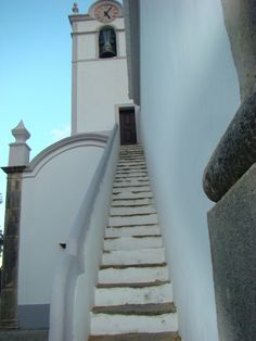 SAN LORENZO - ALMANCIL prespectiva -- photo by Duarte Cancella Algarve, Portugal, Landscapes, Stairs, Traditional, Saints, Paisajes, Fotografia, Ladders