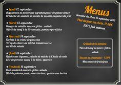 100% fait maison, voici le menu de la semaine pour le restaurant de l'hôtel Ibis #Luxembourg Aéroport http://www.hotel-ibis-luxembourg.com/fr/restaurant.html