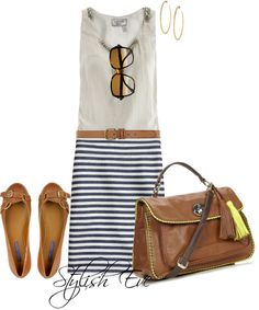 casual outfit - cute for work or play!