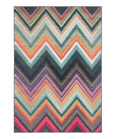 Look what I found on #zulily! Zigzag Iona Area Rug #zulilyfinds