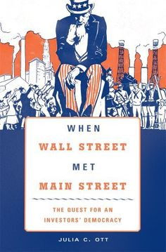 The financial crisis that began in 2008 has made Americans keenly aware of the enormous impact Wall Street has on the economic well-being of the nation and its citizenry. How did financial markets and institutions-commonly perceived as marginal and elitist at the beginning of the twentieth... more details available at https://insurance-books.bestselleroutlets.com/history-of-insurance/americas/united-states/product-review-for-when-wall-street-met-main-street-the-quest-for-an-i