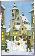 Czech Republic, Kitsch, Notre Dame, Taj Mahal, Holiday, Christmas, Saints, Folk, Magic