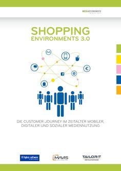 """Die neue Studie """"Shopping Environments 3.0"""" zum Einfluss des Smartphones auf den PoS. Mehr unter http://www.shopping300.de"""