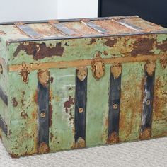 You may have inherited or purchased an antique trunk that has seen better days. These trunks are an interesting conversation starter that offer a large amount of storage space....