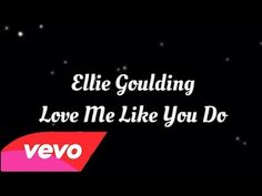 Ellie Goulding - Love Me Like You Do. Bucket List: to take Thee sweetheart to see you perform one day :) Amazing as always. Powerhouse current dream concert - Ellie & Hozier - WOW - it's powerful music. Dance Music, Music Lyrics, Music Quotes, My Music, Prom Songs, Wedding Songs, Ed Sheeran Lyrics, Electric Music, Song Images