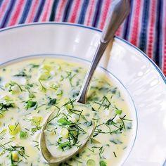 Kirskålssoppa. kirskål. ogräs. recept