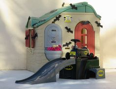 "Superheroes / Birthday ""Batgirl & Friends Co-ed Superhero party"" | Catch My Party"