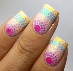 Miss Phibes #nail #nails #nailart