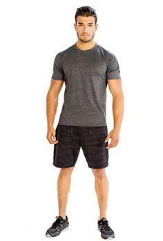 01304e654 Clothing Dropshipping is one of the best wholesale Grey Black Simple Half  Tee Clothing dropshippers