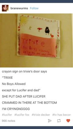 Trixie Decker; Lucifer