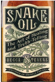 """The """"snake oil"""" salesman who sold faux remedies with a hope and a dream. Pastor and entrepreneur Becca Stevens claims healing through liniments and oils, through touch and time. The social enterprise she founded, Thistle Farms, has reclaimed the term's negative connotations by turning a dream of healing into a reality for those who needed it most."""