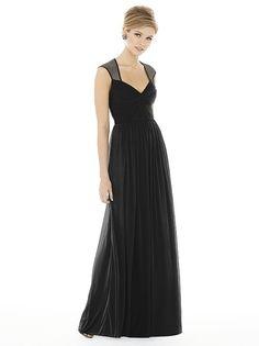 Alfred Sung Style D705 http://www.dessy.com/dresses/bridesmaid/d705/?color=black&colorid=123#.Vc0oYflVhBc