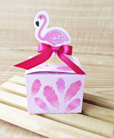 Caixa Flamingo lembrancinha