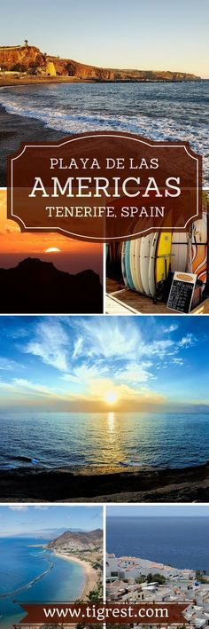Tenerife is the largest of Canary islands and many low cost airlines offer cheap flights throughout winter. Playa de las Americas is one of the three resorts located in the Southern part of the island. This article will give you an overview of things to do and see in this awesome resort. #TravelDestinationsUsaResorts