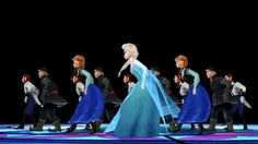 """This Video Of The Characters From """"Frozen"""" Doing The """"Thriller"""" Dance Is Amazingly Weird"""