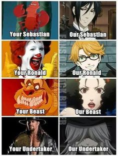 Black Butler is the best