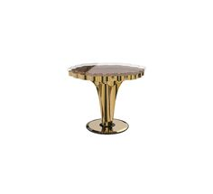 WORMLEY Side Table | Essential Home | #centertable #marblesidetable #brasssidetable See more: https://www.brabbu.com/en/all-products.php