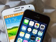 iPhone seen making gains on Samsung An analyst predicts that sales growth for Apple's smartphone will double that of Samsung's in the second quarter -- though Samsung still remains the undisputed champion of smartphone sales.