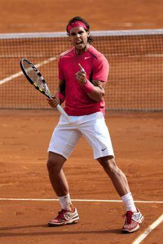The advantage of intensity. – avec Rafa Nadal.