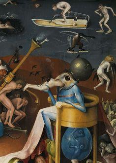 """El maestro holandés del gótico tardío fue una anomalía para su tiempo: jugó con lo grotesco y creó monstruos espeluznantes que todavía son objeto de pasmo. Publican en un solo volumen las 20 pinturas y ocho dibujos que se atribuyen a este """"surrealista del siglo XV"""" que tal vez era miembro de una secta herética panteísta. En 2016 se cumplen 500 años de la muerte del pintor y el libro penetra en la explicación de la profusa simbología fantástica y de pesadilla del pintor."""