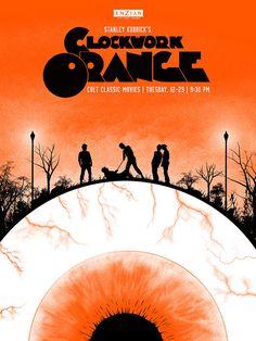 A Clockwork Orange poster by Lure Design Inc.