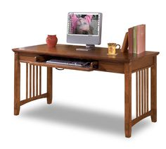 American Furniture Warehouse -- Virtual Store -- H319-44 Cross Island Large Leg Desk by Ashley Furniture