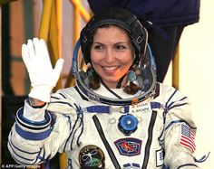 Anousheh Ansari, the world's first woman space tourist:For eight days, the female volunteers in the new experiment will live inside a wood-panelled suite of rooms at Moscow's Institute of Biomedical Problems