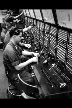 Military telephone switchboard