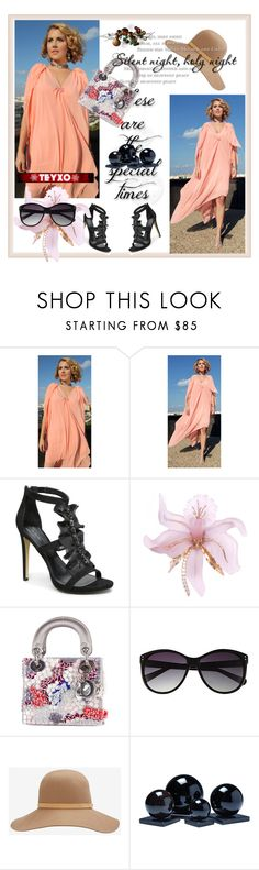 """""""Teyxo Contast"""" by aida-1999 ❤ liked on Polyvore featuring Bebe, Christian Dior, Vince Camuto and rag & bone"""