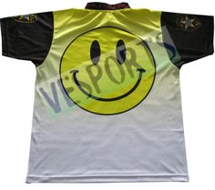 custom design fishing jersey with sublimation