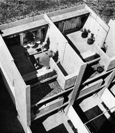 deseopolis:  Houses in Halen, Atelier 5. Switzerland. 1961