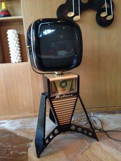 Predicta Philco TV vintage retro 50's 60's 70's mid century