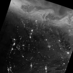 Lights in the Darkness - NASA Earth Observatory