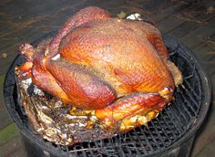 """Greg's """"secret"""" brine recipe for the juiciest smoked turkey (this brine is also excellent for roast turkey): http://carolinasaucecompany.blogspot.com/2013/11/gregs-secret-turkey-brine-recipe.html"""