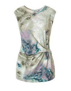 Watercolour Print Top