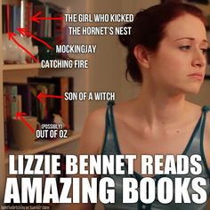 """iamthebricklayer:    From The Lizzie Bennet Diaries """"The Green Bean Gelatin Plan"""" - Ep: 19x    Wow that's really impressive, but it's not Out of Oz, it's Sarah Morgan: The Civil War Journal of a Southern Woman."""