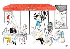 Les Bobines : un lieu unique à Paris, tapas gourmandes et grand écran