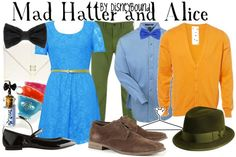 alice in wonderland | Disney Bound {Mad Hatter & Alice}