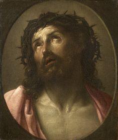 Man of Sorrows, Artist: Guido Reni, Technique: oil, Dimensions: 51.5 x 44.5 cm