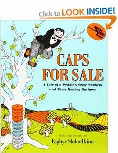 Caps for Sale (Reading Rainbow Books): Amazon.co.uk: Esphyr Slobodkina: Books