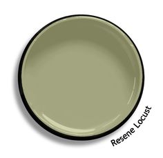 Resene Locust is a subtle pastoral moss green. From the Resene BS5252 colours collection. Try a Resene testpot or view a physical sample at your Resene ColorShop or Reseller before making your final colour choice. www.resene.co.nz Colour Pallete, Color Schemes, Color Palettes, Interior Paint Colors, Paint Colours, Interior Design, Room Colors, House Colors, Pallet Designs