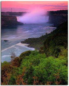 Niagara River in Canada. | Stunning Places #Places #Canada #Niagara