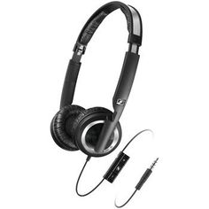 Sennheiser Collapsible High-performance Noise-isolating Headphone With Microphone & Smart Remote