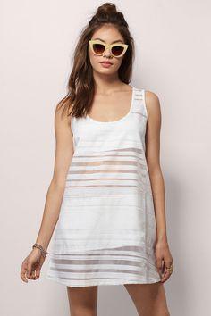 Ivory Secret Secret Shift Dress at $20 (was $50)