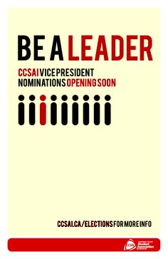 Be a Leader!