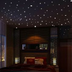 Wall Decoration Home Decoration Home Living Room Bedroom DecorGlow in The Dark Star Wall Stickers Round Dot Luminous Kids Room Decor Wall Stickers Round, Wall Stickers Glow In The Dark, Room Stickers, Window Stickers, Star Stickers, Dark Ceiling, Home Ceiling, Ceiling Decor, Bedroom Ceiling