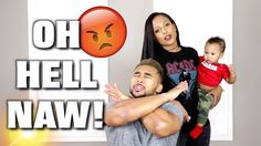 WIFE TRANSFORMS HUSBAND INTO CHRIS BROWN
