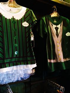 New Haunted Mansion Maid & Butler tops - DLR